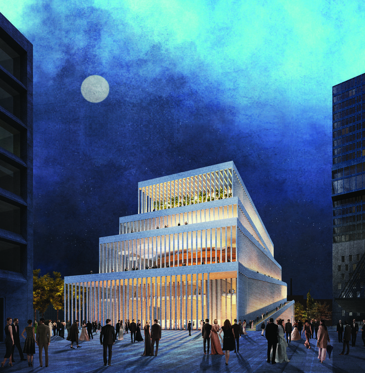 Gallery of Cukrowicz Nachbaur Architekte Beats Out 30 Top Firms in Munich Concert Hall Competition - 22