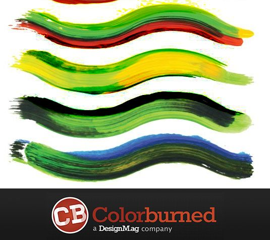 Best free Illustrator brushes - 57 multi-colored brushes