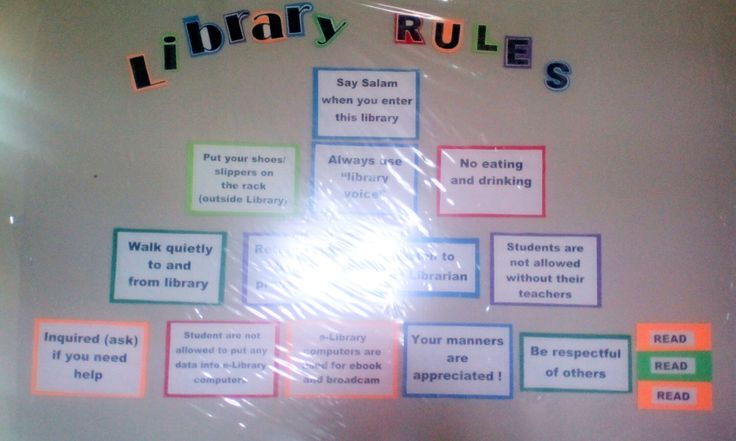 Pyramid of library rules
