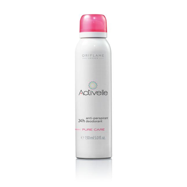 Spray Desodorante Antitranspirante Activelle Pure Care #oriflame