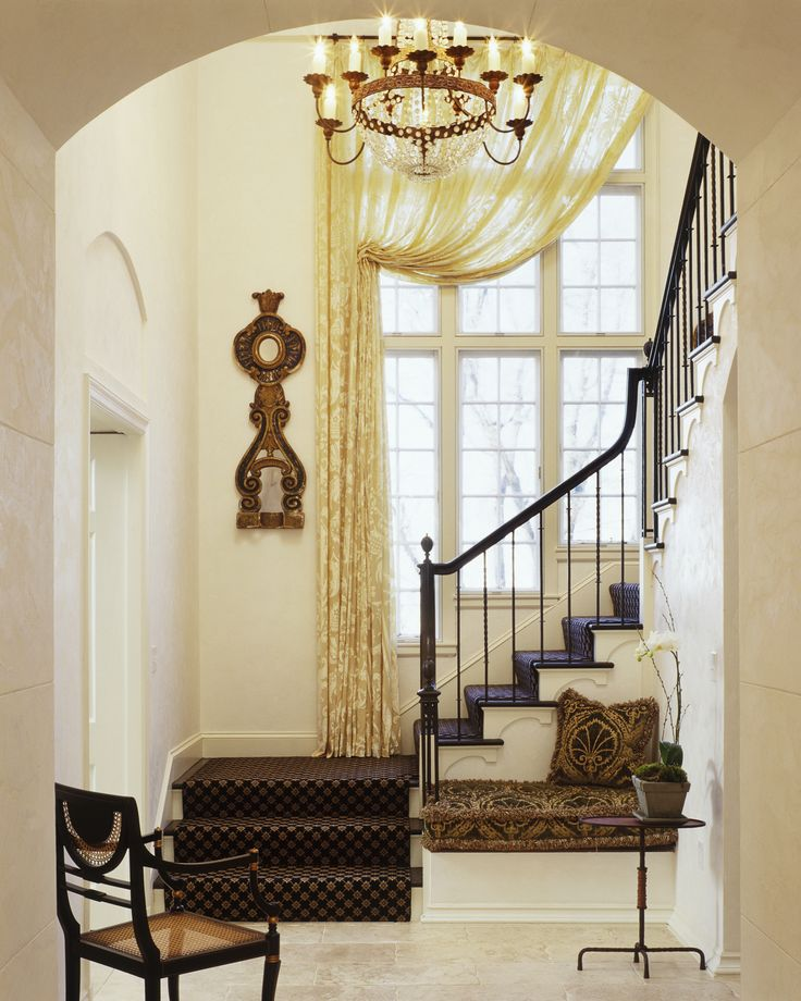 Tall Foyer Window Treatments : Best images about tall window treatments on pinterest