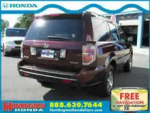 used Honda Pilot NY New York 2008 located in Long Island at Huntington Honda