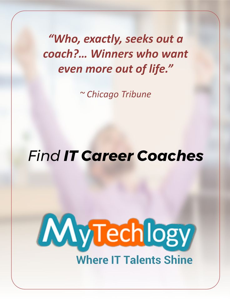 Be a Winner! Find Tech and IT Career Coaches from across 15 countries around the world on MyTechlogy. Hire Career Coaches in #datascience #cybersecurity #bigdata #cloudcomputing #ux #projectmanagement #agile #itsecurity