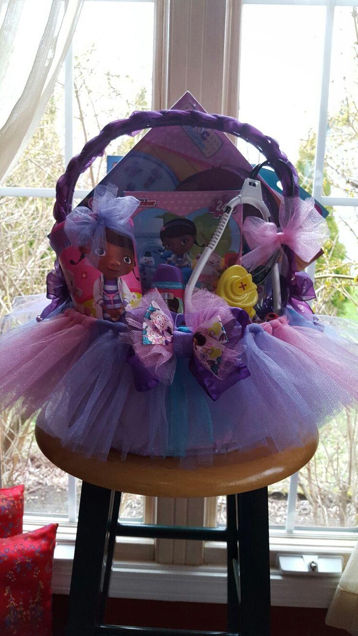 Doc Mcstuffins Tutu Gift Basket By Norma S Unique Gift