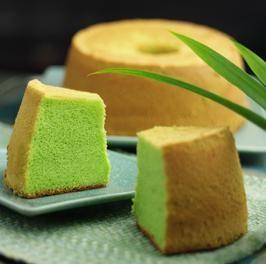 Recette Thailandaise : Gâteau de riz au pandan