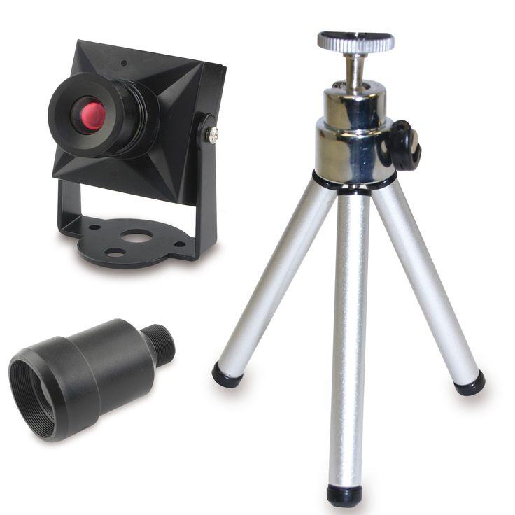 Swann DIY Security Cam Color Video Camera with BONUS Tripod & Telephoto Lens – ResellerHub.store
