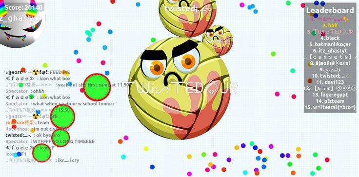 0 - 丅ᗯᎥᔕ丅ᗴᗪ♤ᒎᖇ saved mass Thank you very much agario 20140 agario private score 丅ᗯᎥᔕ丅ᗴᗪ♤ᒎᖇ nickname for all the love and agarioplay.com