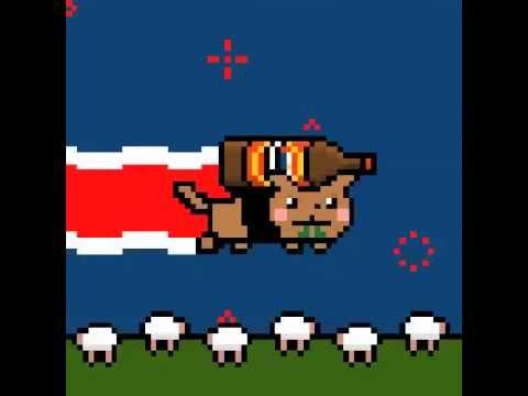 Nyan Cat NEW ZEALAND!!!