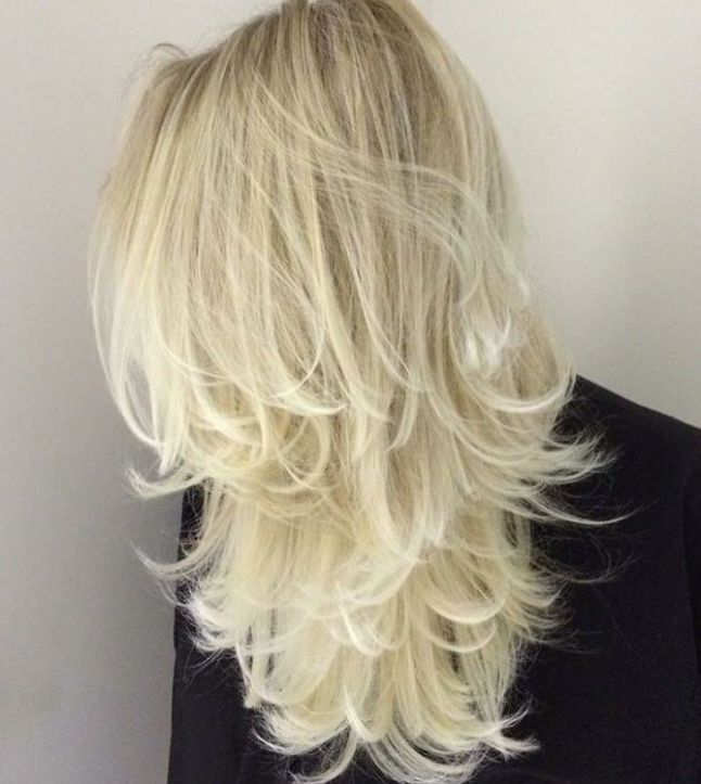 blonde layered hair ideas