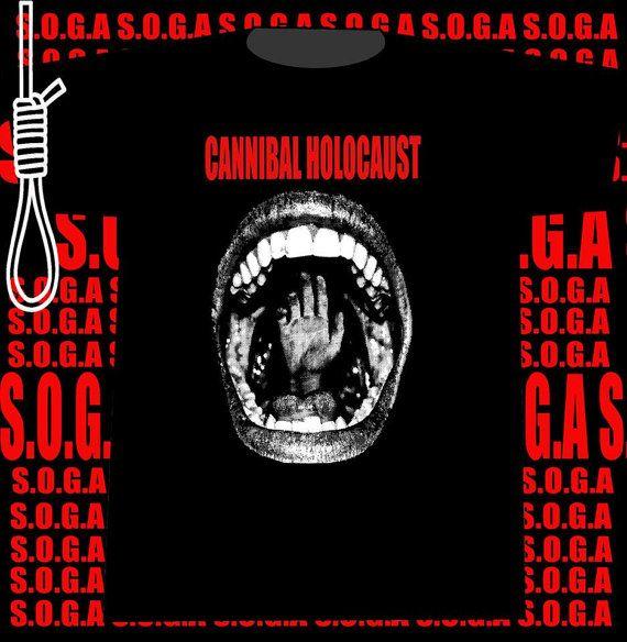 Holocausto canibal por SOGAtshirts en Etsy, €15.00