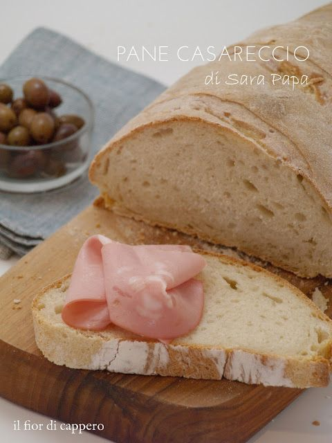 il fior di cappero: Pane bianco casareccio di Sara Papa