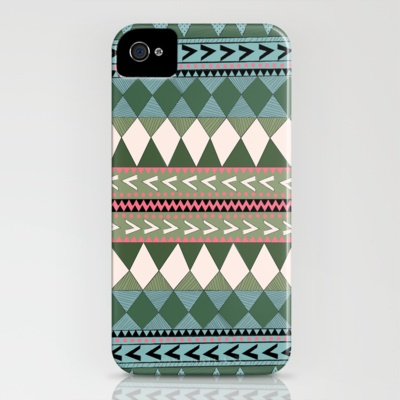 Native Forest iPhone Case by Nika  - $35.00