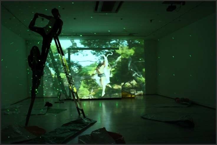 """Kostas Tsioukas, Lena Moscha """"DEAD OR ALIVE"""" at MMCA. 3rd Thessaloniki Biennale. Curated by Marina Fokida ©State Museum of Contemporary Art and the artists"""