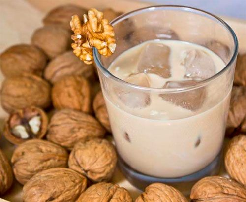 Almond, Hazelnut, Walnut and Peanut Liqueurs make for a delicious adult beverage.
