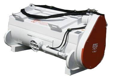 BUDOWA I WYPOSAŻENIE MIESZALNIKÓW M3 ( metal meccanica moderna ) hydraulicznie otwierany spust dolny rura spustowa mocowanie łyżki do nośnika na szybkozłącze (w cenie osprzętu) silnik hydrauliczny z wysokociśnieniowymi uszczelkami wraz z elektrozaworem i wężami hydraulicznymi do podłączenia zdejmowany przedni grill sterowanie dolnym spustem elektryczne lub ręczne lemiesz wykonany z HARDOX 400 płaszcz łyżki wykonany ze stali trudnościeralnej HB400 spirala mieszadła łyżki wykonane z HARDOX 400