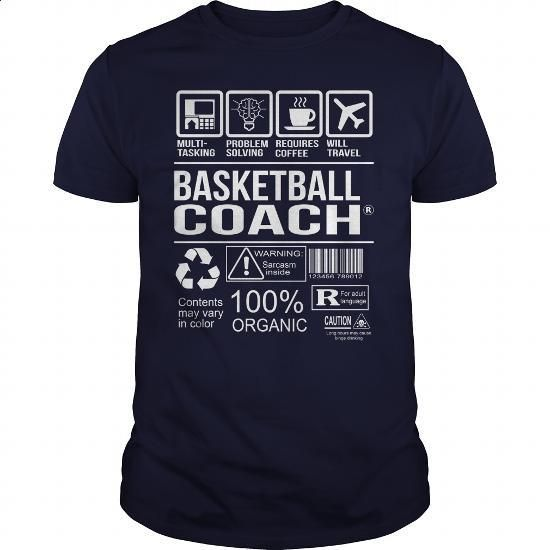 Awesome Tee For Basketball Coach - #pink hoodies #long sleeve tee shirts. PURCHASE NOW => https://www.sunfrog.com/LifeStyle/Awesome-Tee-For-Basketball-Coach-103022990-Navy-Blue-Guys.html?60505