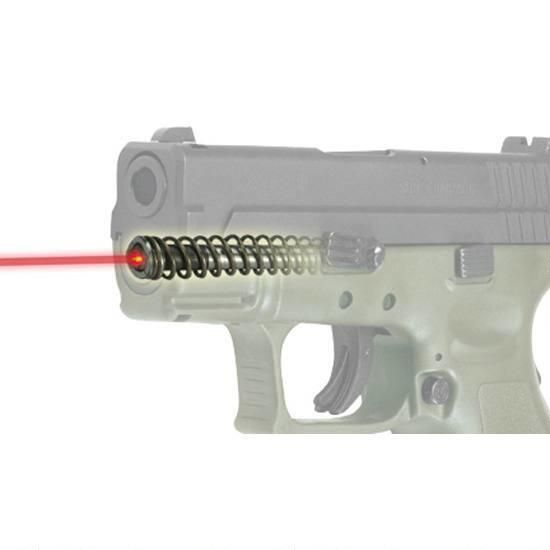 """LaserMax XD 9mm and .40 S&W Subcompact 3"""" Guide Rod Laser Sight, Internal, Warranty - LMS-3XD - 798816323405"""