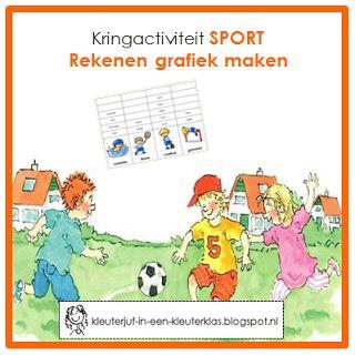 Kringactiviteit rekenen - Hoeveel kinderen zitten er op welke sport? | Thema SPORT