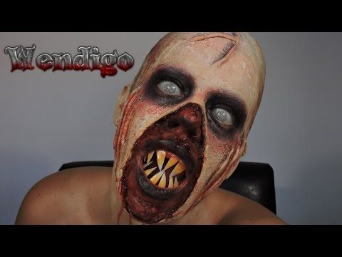 Maquillaje de Wendigo / Gore #17 / Until Dawn Wendigo Halloween Makeup - Maquillaje para Halloween - YouTube