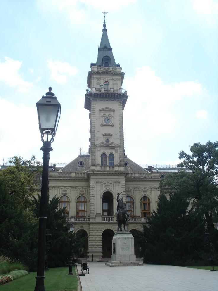 Hódmezővásárhely, town hall, Hungary