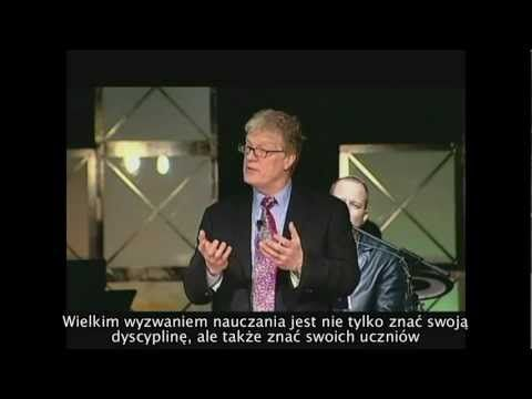 ▶ Nauczyciele są jak ogrodnicy - Sir Ken Robinson - YouTube