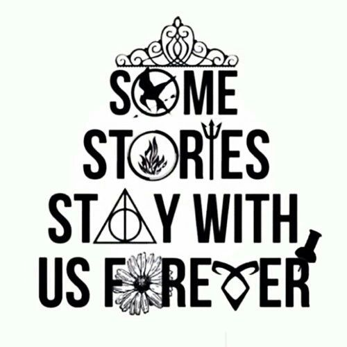 The Selection ~ The Hunger Games ~ Divergent ~ Percy Jackson ~ Harry Potter ~ Looking For Alaska ~ The Mortal Instruments ~ Paper Towns