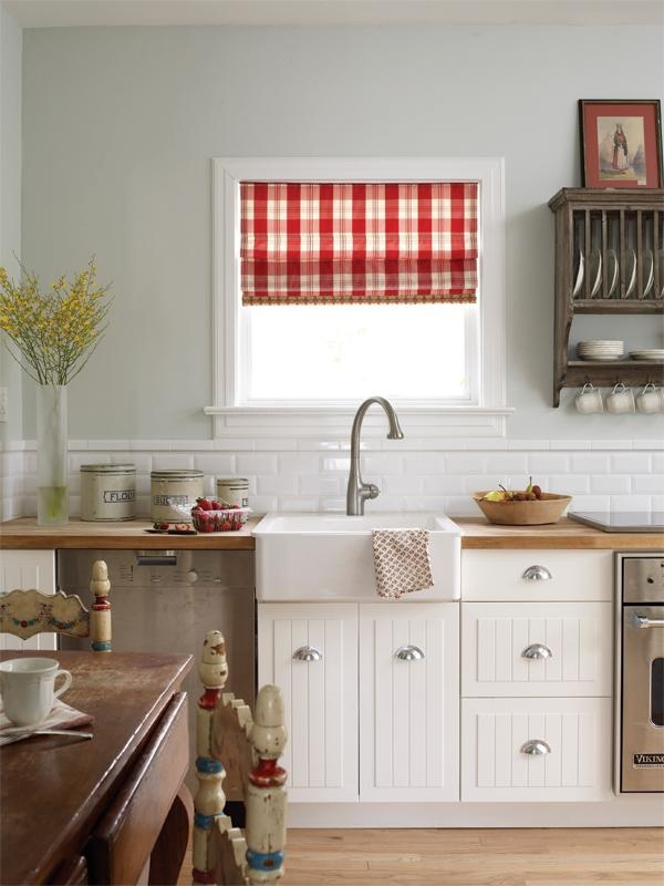 simple window above a counter