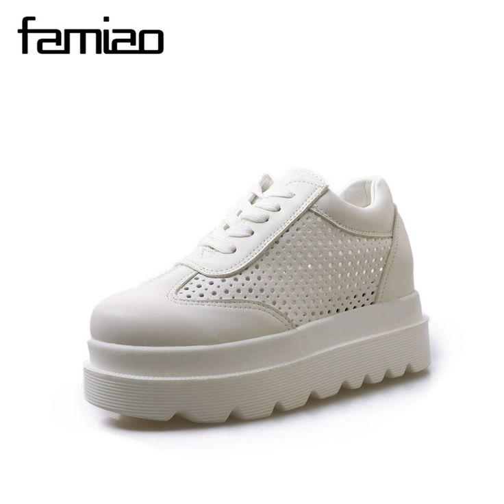 Sandales élégant basses chaussons noir platform confortable comme cuir 1106 cF4AvX