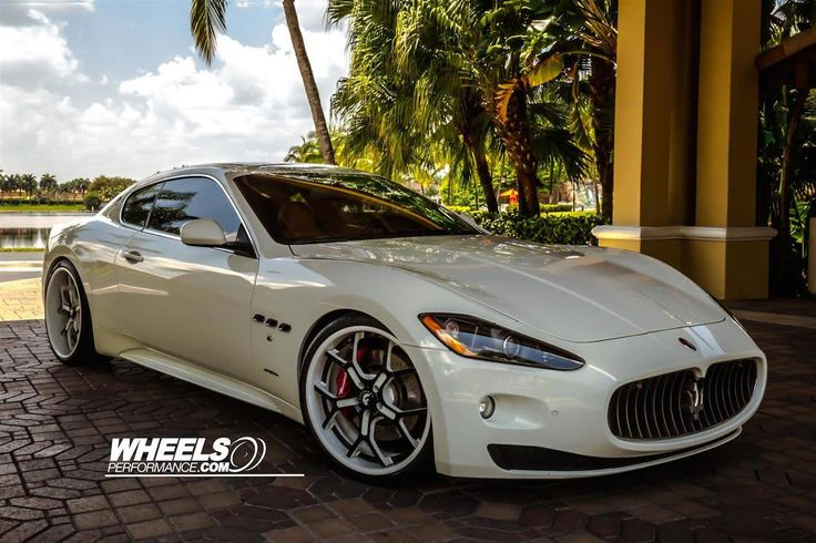 Maserati GranTurismo With Forgiato GTR Wheels by WheelsPerformance.com in Miami FL . Click to view more photos and mod info.