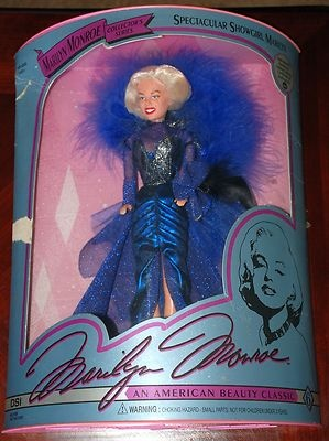 1993 BARBIE -MARILYN MONROE COLLECTORS SERIES-SPECTACULAR SHOWGIRL MARILYN - MIB