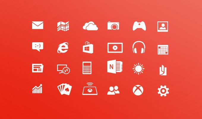 Windows 8 Metro Icons - 365psd