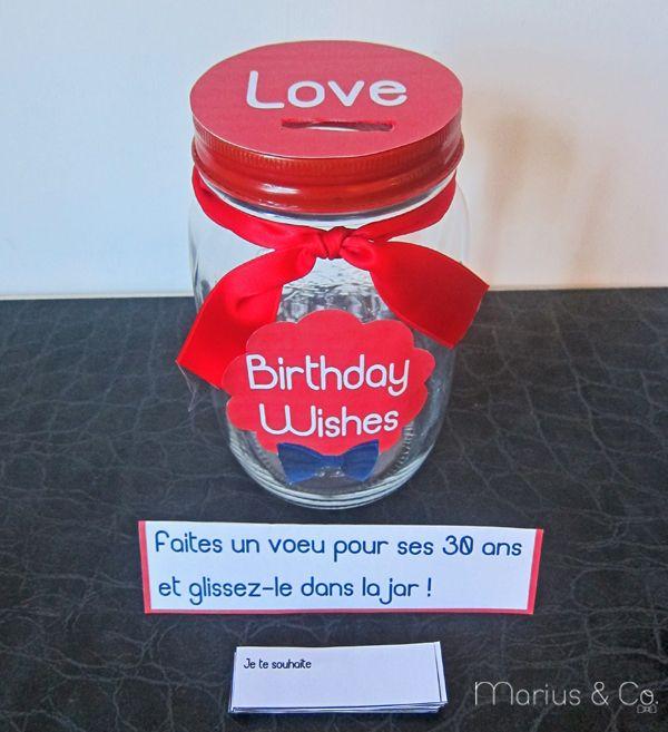 La boite à voeux de Marius & Co #jar #deco #diy