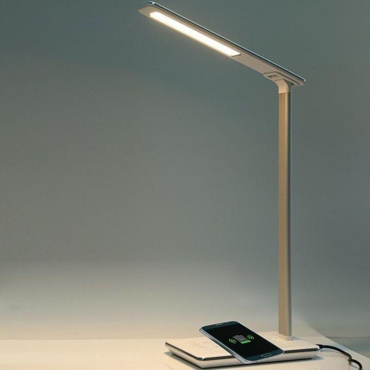 Lys Wireless Multi Function Charging Led Lamp Lamp Lights Tablelamp Led Desk Lamp Led Desk Lighting Desk Lamp