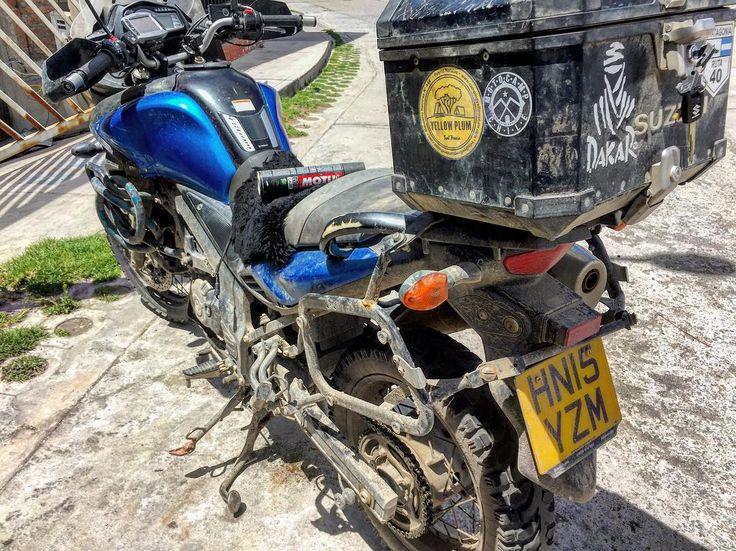 Suzuki V-Strom 650  Apoyando a turista británico  #motorrad#motorcycle#motorcyclelife#motorcycletravel#motocicleta#motociclismo#taller#ruta54#chopper#choppers#chopera#mechanics#mechanics#engineer#brakes#wheel#Peru#Arequipa#Mecanica#suzuki