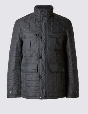 Quilted Jacket with StormwearTM