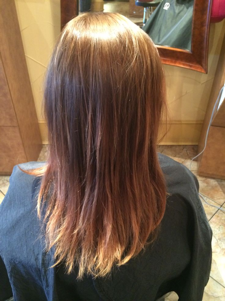 subtle balayage by Brittany Dunne