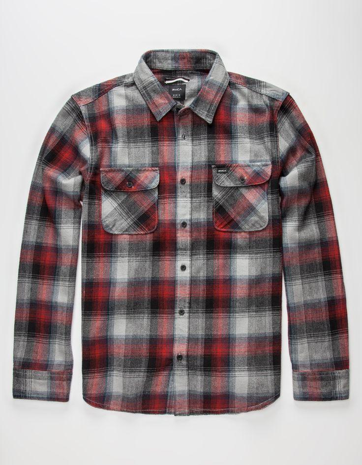 RVCA Highland Mens Flannel Shirt 267843381 | Flannels