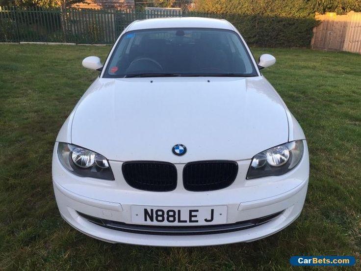2009 BMW 116I SPORT WHITE #bmw #116isport #forsale #unitedkingdom