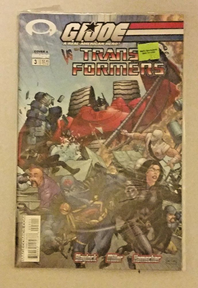 Image Comics GI Joe vs. The Transformers #3 (2003)