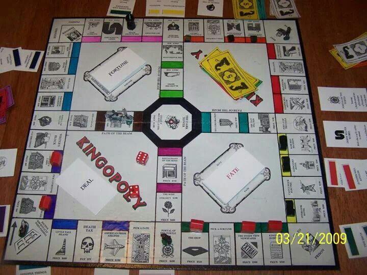 Stephen king monopoly