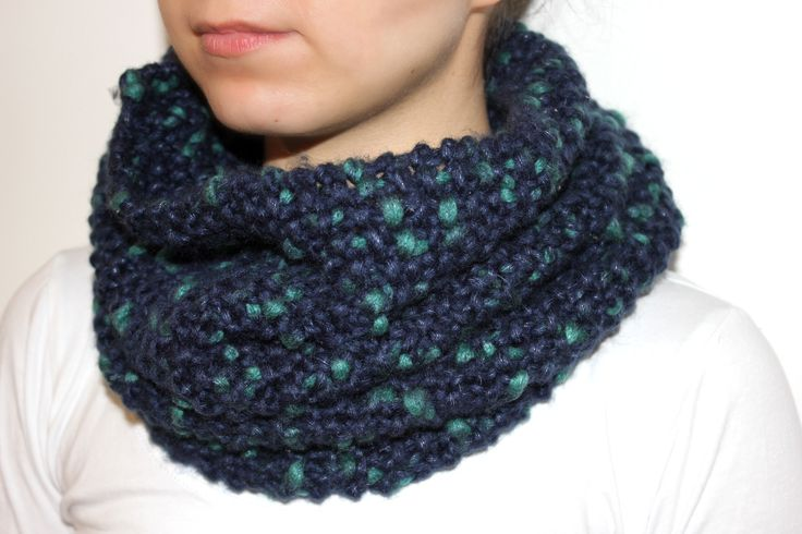 Custom knitted Snood made for customer by Homemade By Marcie. Follow on Instagram @Homemadebymarcie