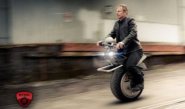Ryno Motors One-Wheeled Bike
