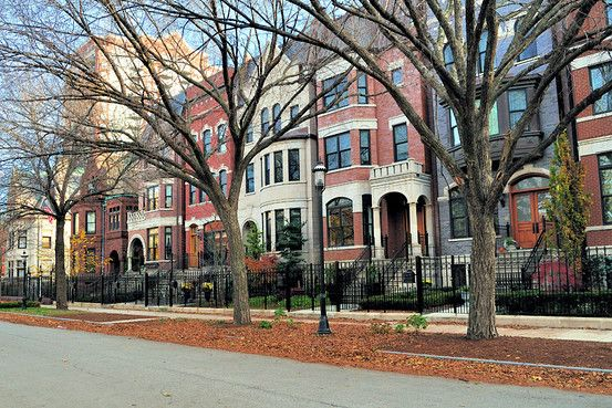 ♥ Beautiful Chicago townhouses ♥