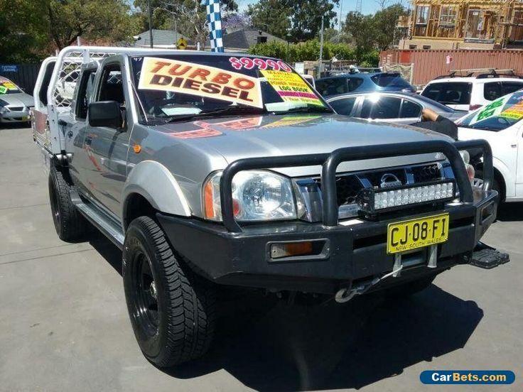 2003 Nissan Navara D22 ST-R (4x4) Silver Manual 5sp M Dual Cab Pick-up #nissan #navara #forsale #australia