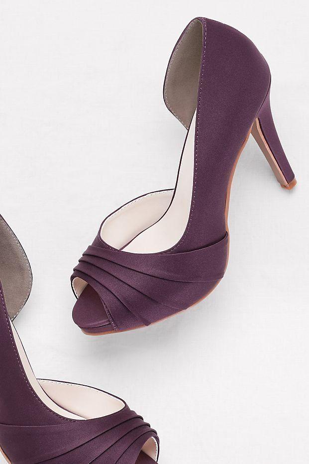 Mens Purple Gray Jute Polyester Wedding Shoes MJ015388