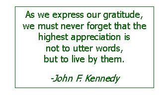 JFK Kindness