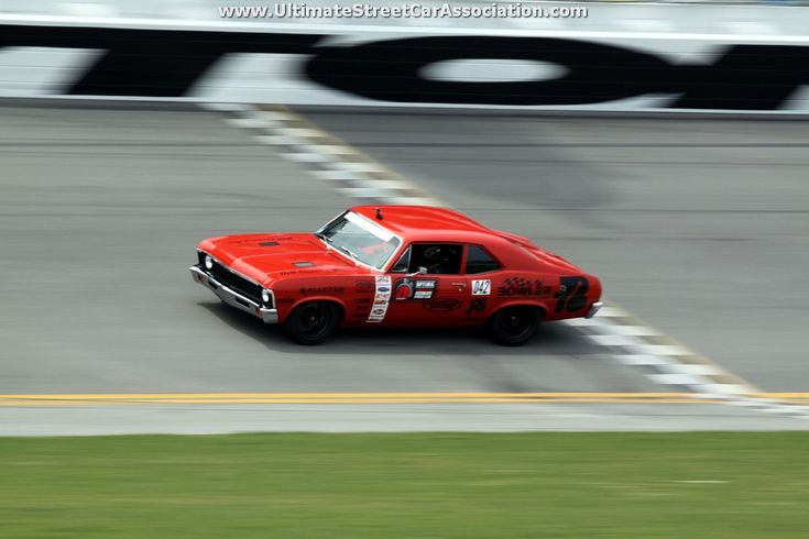 Billy Utley's 1972 Chevy Nova at #DriveOPTIMA at Daytona International Speedway 2014 #ProTouring