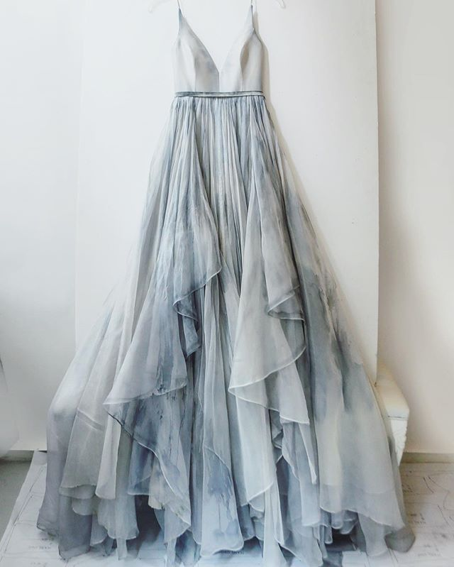 Leanne Marshall Gabrielle #dress in Rain Cloud - Limited Edition.