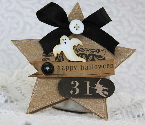 halloween star card.  could be a tag?