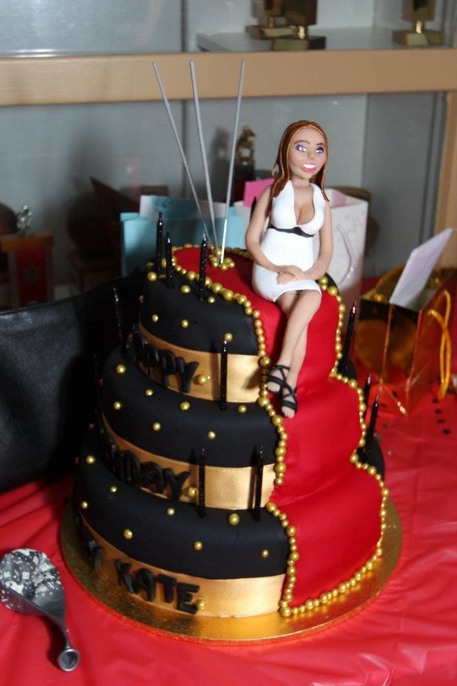Red Carpet Birthday Cake I Made Cakes Pinterest